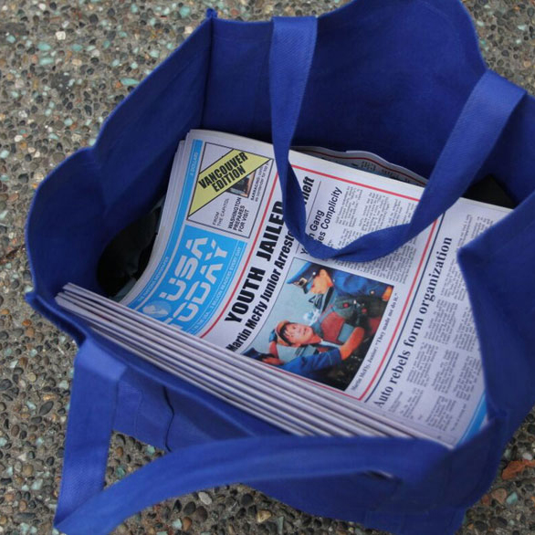 Back to the Future Day Newspaper Replicas