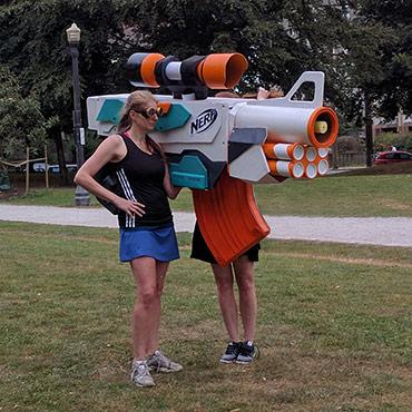 Giant Nerf Gun